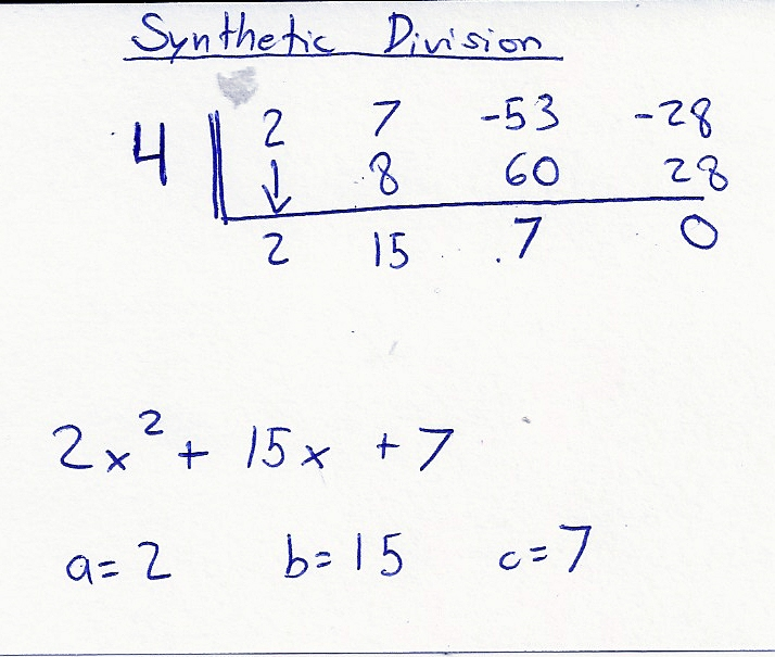 Synthethic Division