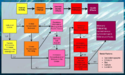 SDSU Florida Red Tides in Gulf Related to Harmful Health Outcomes Pathway Diagram