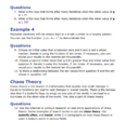Algebra Chaos Theory Worksheet Exercise Help