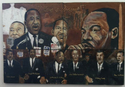 Visual Elements in Art: I have a dream Painting of Martin Luther King