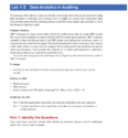 Colorado State University Data Analytics in Accounting and Auditing Paper
