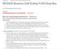 HB 420 Michigan State University Business Golf Outing Plan Interviews